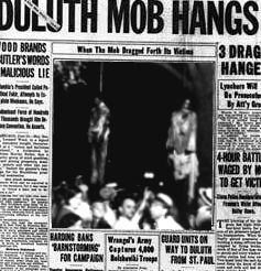 Victim imagery - lynching in the news