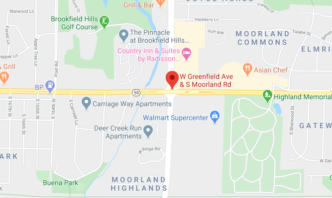 W Greenfield Ave & S Moorland Rd Brookfield, WI 53005